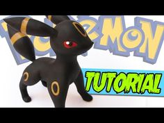 Pokémon Umbreon polymer clay tutorial