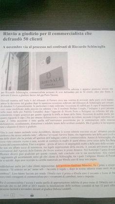 Storie di commercialisti infedeli...#RinvioAGiudizio #Ferrara #Penale #ParteCivile #StudioLegaleMancino