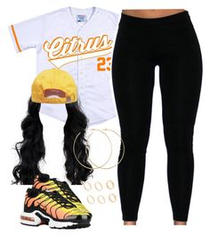 """""""Citrus."""" by cheerstostyle ❤ liked on Polyvore featuring NIKE and Allison Bryan"""