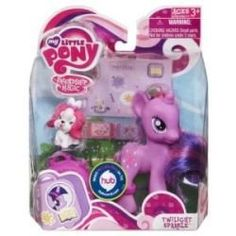 My Little Pony Figure Twilight Sparkle with Suitcase