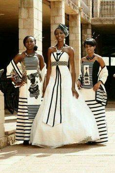 Xhosa Bridal Attire