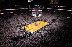 Who did #Heat play in their opening game at the American Airlines Arena? From #1 #NBA  App www.nbabasketballquizgame.com