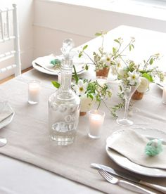 Lilac and Linen DIY Wedding Table EAD-24