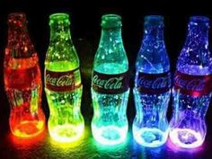 Awesome Coca Cola bottles