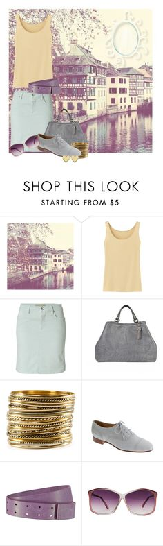 """Paris I can't get you off my mind"" by zeepanda ❤ liked on Polyvore featuring Uniqlo, Closed, H&M, J.Crew, Haider Ackermann, American Apparel and Jennifer Zeuner"