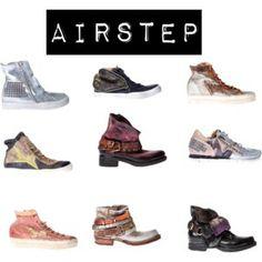 Selección de calzado de la marca AIRSTEP.
