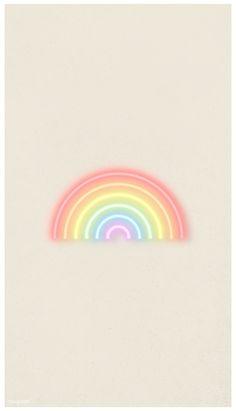 rainbow color wallpaper iphone