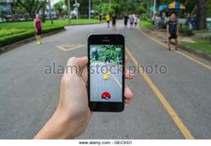Pokemon Go had a massive user following in 2016. (Stock Photo)  Contributor: Wachirawit Iemlerkchai / Alamy  www.alamy.com http://www.alamy.com/stock-photo-bangkok-thailand-july-22-2016-apple-iphone5s-held-in-one-hand-showing-112151649.html