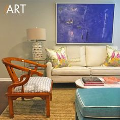 We love install photos <3 Thank you Haley Powell of Jenkins Interiors for sharing! This is image GMOM701 from the Layers Collection rotated to show horizontally, and it's beautiful in this space. #chcart #humpday #customart #installation #interiordesign #interiordesigncommunity #homedecor #walldecor #wallart #livingroom #design #contemporaryart #abstractart #hpmkt #hpmktss #designonhpmkt #jenkinsinteriors