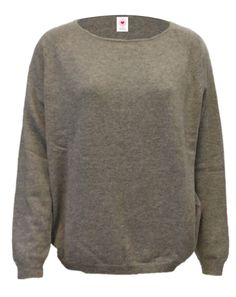 6214-1037 or 6214-B12-1037 / Colour: Silver gray / Brand: herzensangelegenheit / Size: 44 ***100% Cashmere Basic #musthave