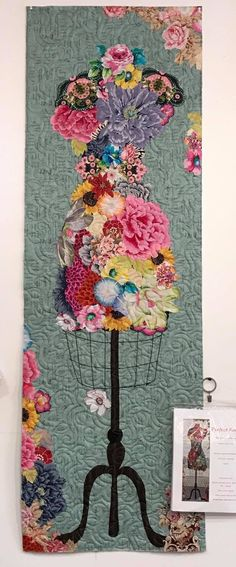 My perfect form laura heine collage quilt