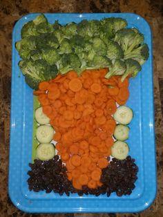 My Easter Veggie platter