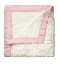 aden & anais  tranquility leafy and white blanket. order through anna motsinger @ indeed! $59.95