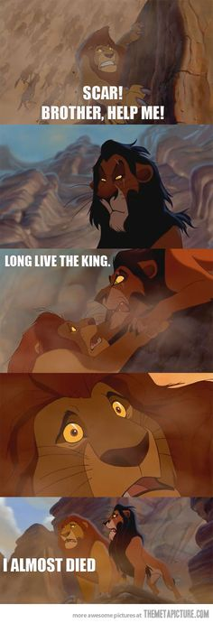 The Lion King would have been a totally different movie.