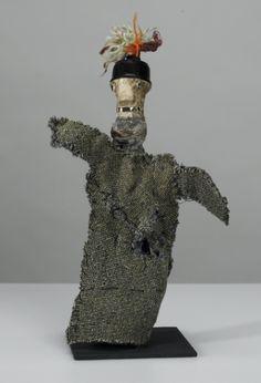 Paul Klee (Swiss-German 1879-1940), Untitled hand puppet (Genie of the Socket), 35 cm, 1925. Collection Zentrum Paul Klee, Bern.