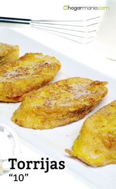 torrijas 10 #cocina #recetas #postre #torrijas Mexican Food Recipes, Sweet Recipes, Cake Recipes, Dessert Recipes, Mexican Desserts, Spanish Desserts, Spanish Dishes, Individual Cakes, Kitchen Recipes