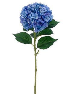 Looking for blue wedding flowers? Find blue flowers in a variety of styles like this beautiful, faux large hydrangea in two tone blue with soft lavender tones. This realistic blue hydrangea is the has Country Wedding Flowers, Neutral Wedding Flowers, Romantic Wedding Flowers, Wedding Flower Decorations, Flower Bouquet Wedding, Blue Wedding, Flowers Decoration, Bridal Bouquets, Inexpensive Wedding Flowers