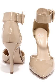 c06ac91b328 Wild Diva Lounge Lovisa 01 Taupe Suede Pointed Pumps | Nude Shoes ...