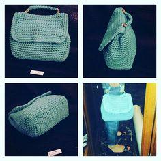 Borsa uncinetto riproduzione Gucci  Fb page Handmade crochet  Fatto a mano 💖