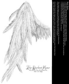 Draped Wing - White by Thy-Darkest-Hour on deviantART