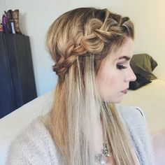 Put on this braided crown by watching Ashley W.'s video tutorial. See the @Bumble BBHIO gifts she used to create it.