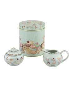 Look at this Cupcakes & Cookies Tea Accessory Set on #zulily today!