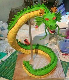 Sheng Long Dragon Ball Cake