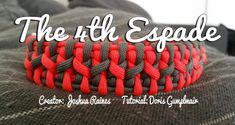 The 4th Espade | Swiss Paracord