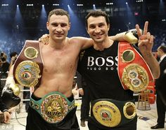 Wladimir and Vitali Klitchko I believe they will be known as the most dominant heavyweights of all time.