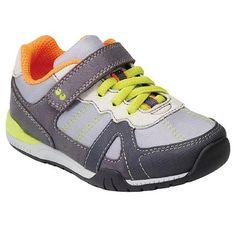 Stride Rite Toddler Boy's Deacon Sneakers - Grey. Size 11