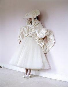 Tim Walker #fashion #white on white