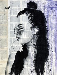 """"""" Tourist """" ink and gouache drawing on book pages by Hussein Tomeh Newspaper Art, Gouache, Saatchi Art, Sketches, Ink, Photo And Video, Drawings, Artworks, Instagram"""