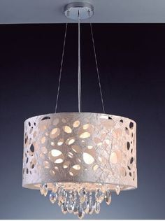 Lustre Pendente Rotterdam Crystal 3 Luzes - R$ 1.229,00