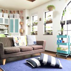 Lounge/観葉植物/IKEA/mt CASA/中古住宅/NO GREEN NO LIFE...などのインテリア実例 - 2015-07-11 00:27:21