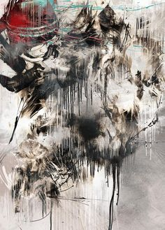 You might have already heard of Russ Mills. If no, let us tell you who this incredible artist is. Between urban fine art and contemporary graphics, Russ creates Matte Painting, Love Painting, Tattoo Photography, Art Graphique, Urban Art, Graphic Art, Graphic Design, Abstract Art, Abstract Paintings