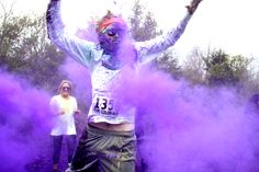 Super excited my family & I are going to do the color fun run! Maybe I should work on getting into shape! :)