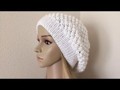How To Knit A Raspberry Stitch Hat, Lilu's Handmade Corner Video # 192 - YouTube
