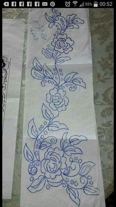 Pencil sketch flower