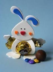 Resultado de imagen para COMO HACER conejos de Pascua para comer: PASO A PASO