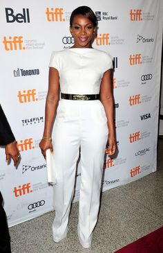 "Genevieve Nnaji  Photos - ""Half Of A Yellow Sun"" Premiere - Arrivals - 2013 Toronto International Film Festival - Zimbio"