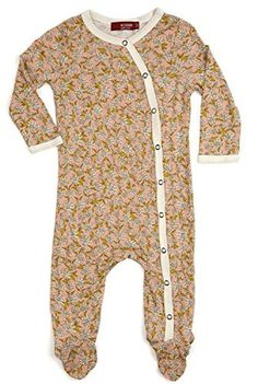 0012eb543a5 Looking for Milkbarn Bamboo Footed Romper Rose Floral   Check out our picks  for the Milkbarn Bamboo Footed Romper Rose Floral from the popular stores -  all ...