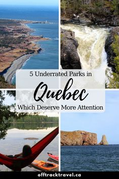 The province of Quebec in Canada hosts a wide array of wilderness and here are just a few of the underrated parks that protect it! New England Cruises, Canada National Parks, Camping And Hiking, Backpacking, East Coast Travel, Canada Travel, Cool Places To Visit, Wilderness, Regional