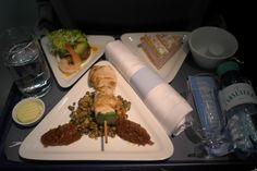 Austrian Airlines (business) VIE - FRA / 23 Feb 2012