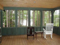 3 Season Porch Furniture shake shingle sided three season room.   home decor ideas