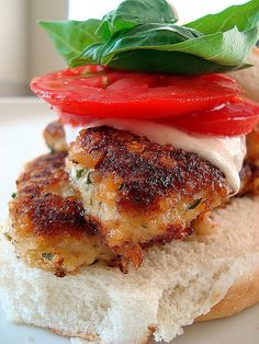 Grilled Chicken Caprese. Sounds fantastic!! I can't wait to try this!