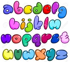 Alfabeto Graffiti, Comic Bubble, Doodle Lettering, Cute Notes, Bullet Journal School, Graffiti Alphabet, Illustrations And Posters, Cool Fonts, String Art