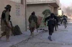 مصدر: إطلاق نار كثيف في مركز تلعفر واحتراق أحد مقرات داعش