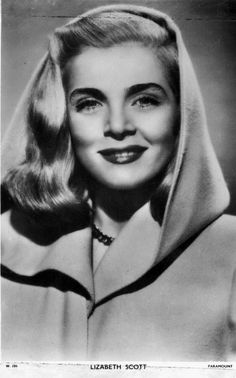 lizabeth scott | Lizabeth Scott - Vintage Classic Célébrities Old Hollywood Movies, Hollywood Icons, Hollywood Actor, Vintage Hollywood, Hollywood Actresses, Classic Hollywood, Actors & Actresses, Iconic Movies, Old Movies