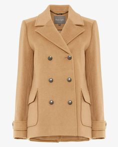 Phase Eight Pippa Pea Coat Neutral