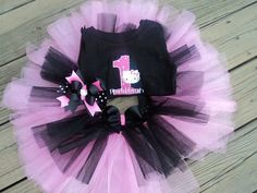 Hello Kitty Birthday outfit by altobin on Etsy, $32.50